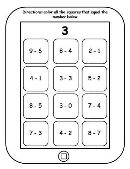 Equation Tablets: Addition and Subtraction