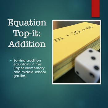 Equation Top-it: Addition