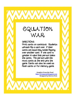 Equation War