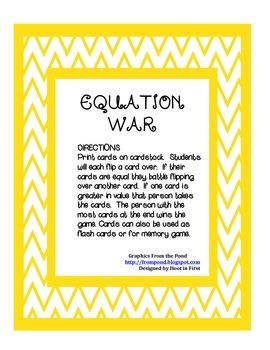 Equation War