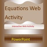 Equation Web Activity