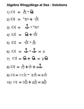Equation Wingydings