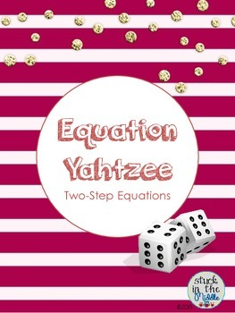 Equation Yahtzee:  Bundle