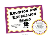 Equation and Expression Bingo