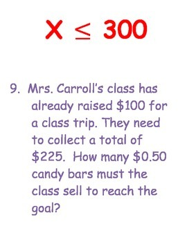 Equation and Inequality Scavenger Hunt