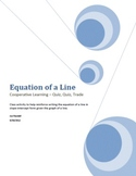 Equation of a Line Activity Cooperative Learning