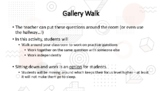 Equations - 6th math - Gallery Walk questions