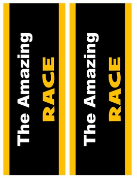 Equations Amazing Race Game