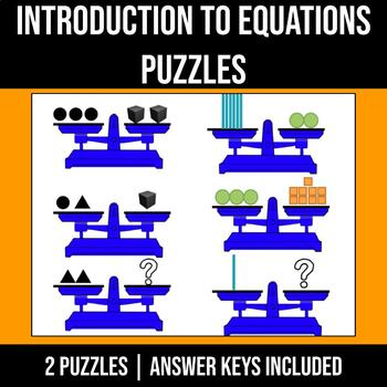 Equations Balance Puzzle - Can You Balance It?