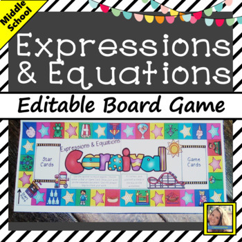 Equations Board Game
