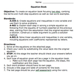 Equations Book