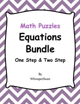 Equations Puzzles Bundle