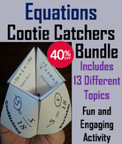 Solving Equations Bundle - 6 to 9th Grade