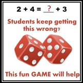 Equations Dice Game