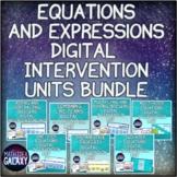 Equations Digital Intervention Units Bundle