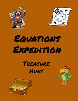 Equations Expedition Math Digital Breakout