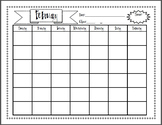 Equations, Exponents, and Numbers Calendar Project