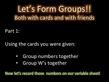 Equations, Expressions and Variables Slides
