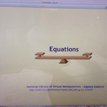 Equations Flipchart