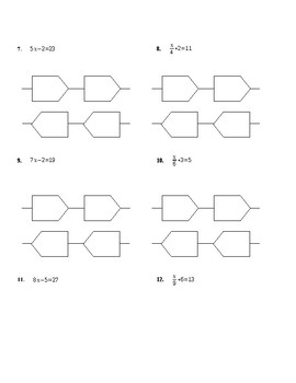 Equations Flow Chart Notes