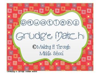 Equations Grudge Math