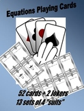 Equations Playing Card Deck