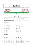 Equations Practice