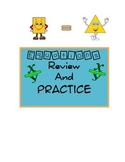 Equations Practice Review Worksheet Common Core Aligned Re