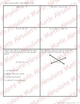 Equations Quiz 3