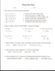 Equations Quiz 1