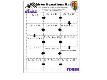 Equations Race