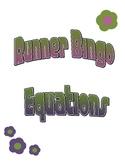 Equations Runner Bingo