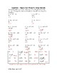 Equations - Square Root Property Using Radicals