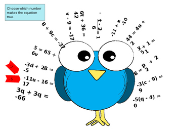 Equations Turkey Game