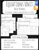 Equations Unit Bundle