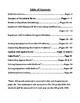Equations Unit Book