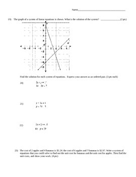 Equations Unit Test