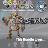 Equations -- Algebra Curriculum Unit Bundle