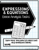 Equations and Expressions Error Analysis