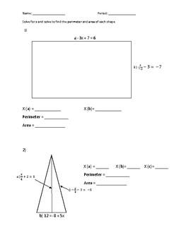 Equations and Geometry