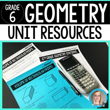 Geometry Unit Resources : 6th Grade