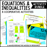 Equations and Inequalities Activity Bundle