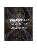 Equations and Inequalities Assignments