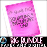 Equations and Inequalities Big Bundle