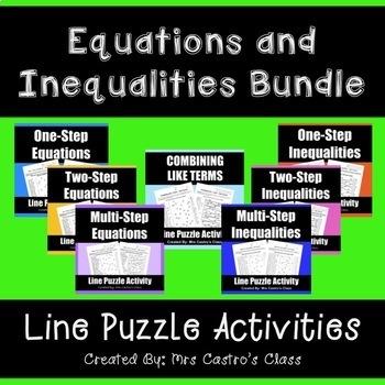 Equations and Inequalities Bundle