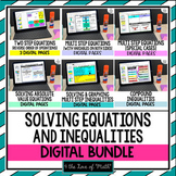 Equations and Inequalities Bundle Google Slides™ Distance