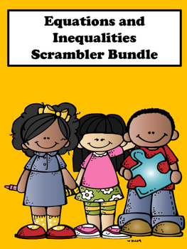 Equations and Inequalities Scrambler Bundle