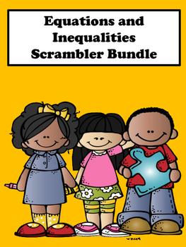 Equations and Inequalities Scrambler Bundle