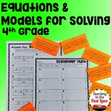 Equations and Models for Solving Unit with Lesson Plans