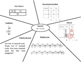 Equations and Multiple Representations Center Activity (Adding & Subtracting)